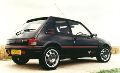 205 gti 1fm home for Housse 205 gti